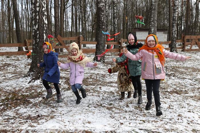 Праздник «Сороки» в Могилевском районе (фото БелТА)