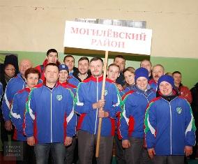 XV oбластная зимняя спартакиада работников АПК в Могилевском районе